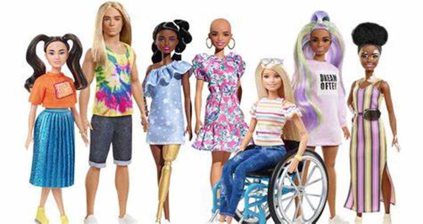 Barbie Latest Collection Teaches Children about Inclusivity